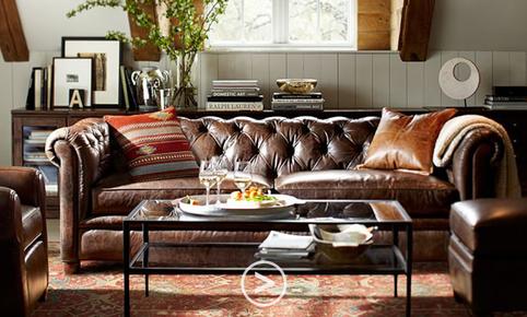 Doriți să cumpărați canapea Chesterfield cu 3 locuri?